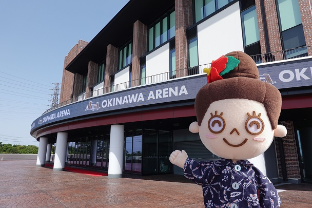 B.LEAGUE 2021-22シーズンの開幕戦が沖縄アリーナで開催!