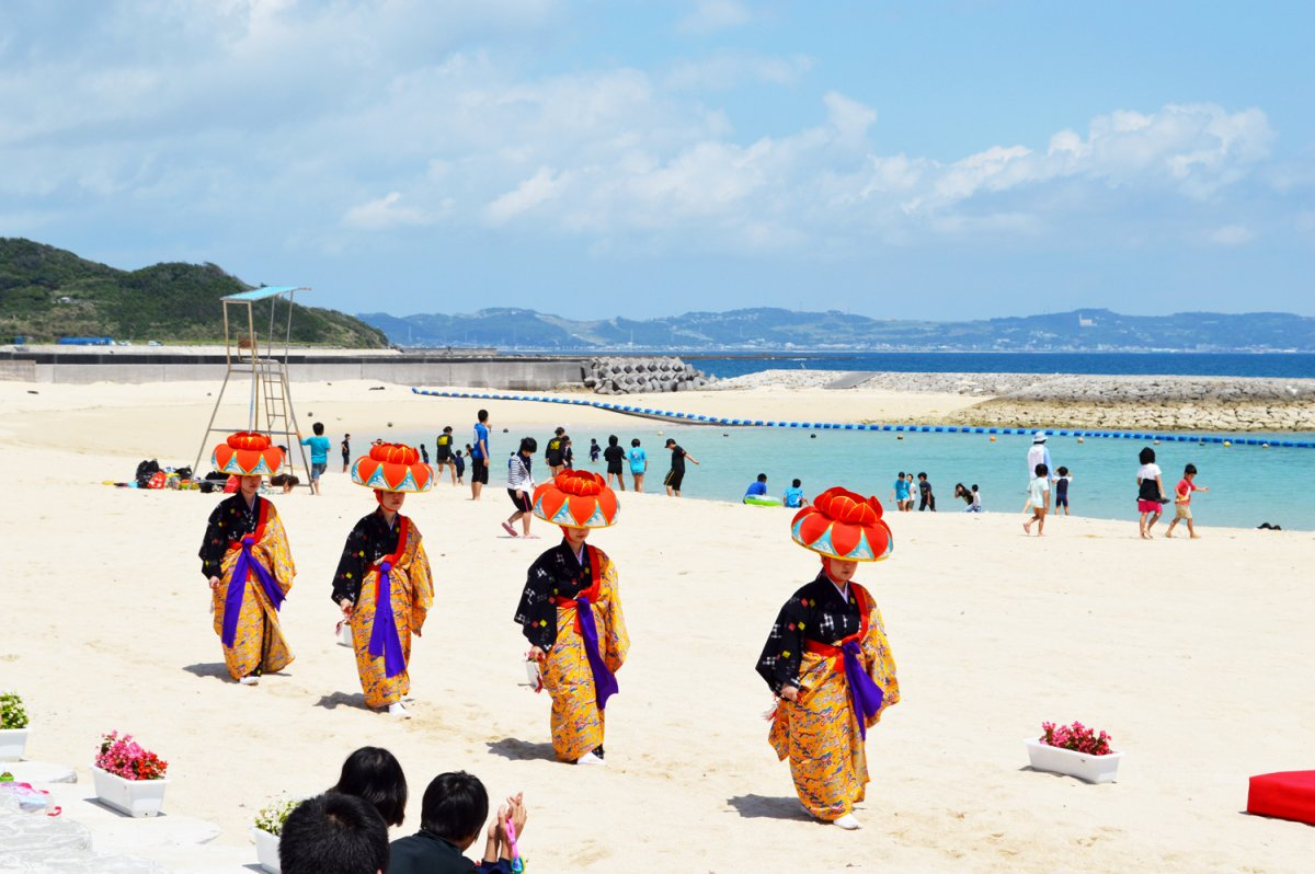 あざまサンサンビーチ 海開きフェスティバル 2018 情報一覧 沖縄の